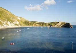 B&B with views of Lulworth Cove